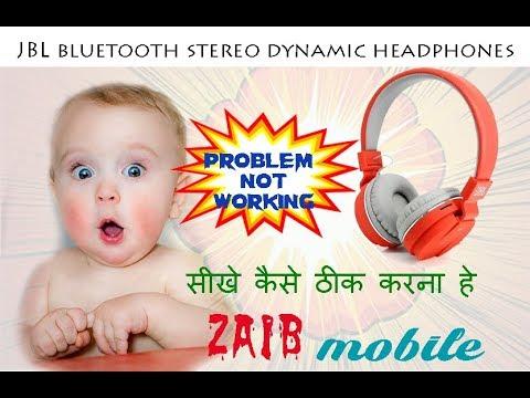 jbl bluetooth stereo dynamic headphones repairing/jbl headphone repairing