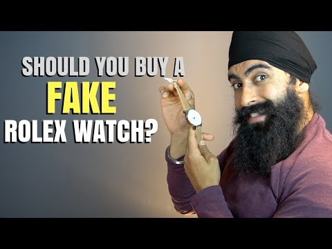 Should You Buy A Fake $10,000 Rolex Watch?