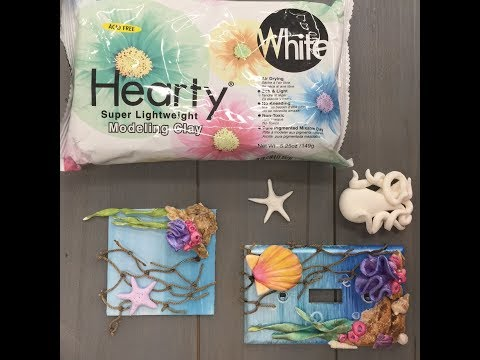 Crankin' Out Crafts  ep526 Hearty Clay Under the Sea part 2