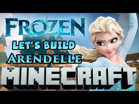 Minecraft Let's Build - Disney Frozen's Arendelle Full Build