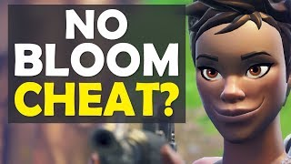 CHEATING IN FORTNITE? | HOW TO GET NO BLOOM | HIGH KILL FUNNY GAME - (Fortnite Battle Royale)
