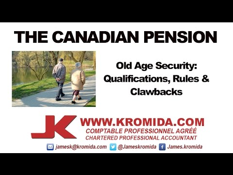 Canadian Pensions (video in English)