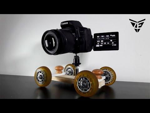 How to Make Camera Dolly At Home 📸