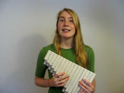 Changing Hamonics and Timbre on Panpipes by Sarah Tulga
