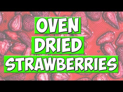 OVEN DRIED STRAWBERRIES // COOKING