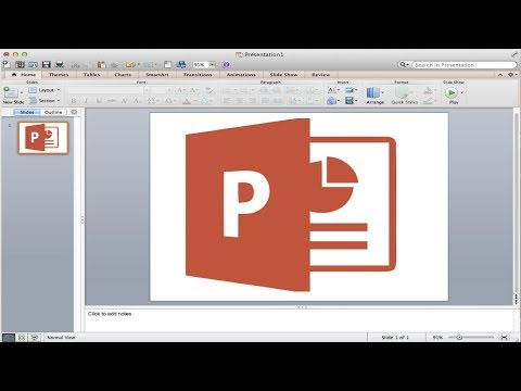 Mac Office: How to Use Microsoft Powerpoint // Basic Tutorial 2016