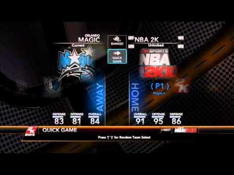 NBA2K10 Codes