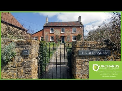 Orchards Estates - The Old Bakery - Tintinhull - Property Video Tour Somerset