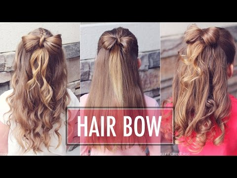 Half Up Hair Bow 🎀  | Brown Haired Bliss