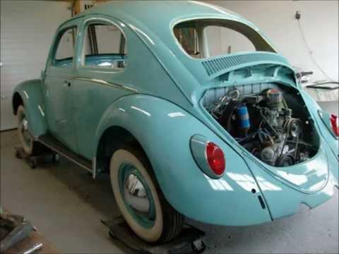 Classic VW Beetle Bug Restoration 1963, By Last Chance Auto Restore.com