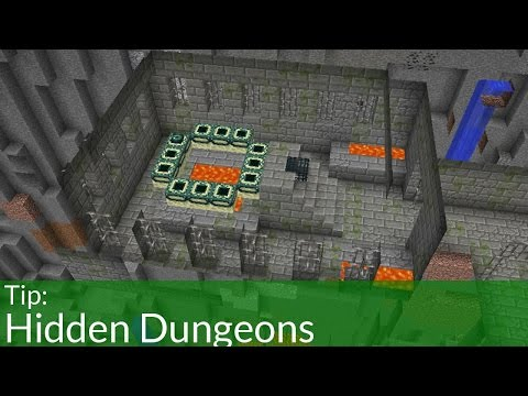 Hidden Dungeons in Minecraft