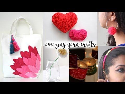 6 Truly Fascinating Ideas With Yarn | DIY Activities | Yarn Craft