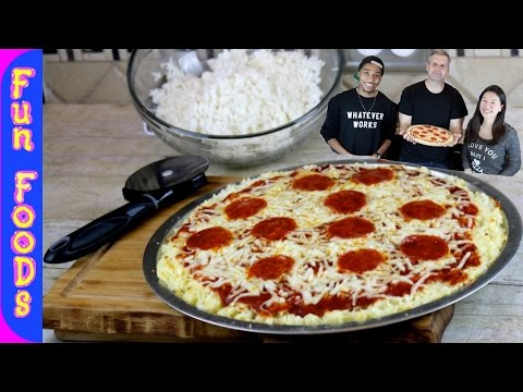 Rice Crusted Pizza | How to Make Pizza with a Rice Crust featuring Slice n Rice