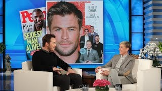 Download Chris Hemsworth Has Chris Pratt's Vote for 'Sexiest Chris' Video