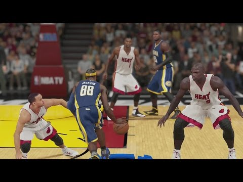 NBA 2K15 PS4 MYCAREER - Tenacious Rebounder Badge Ft. Charge Cheese