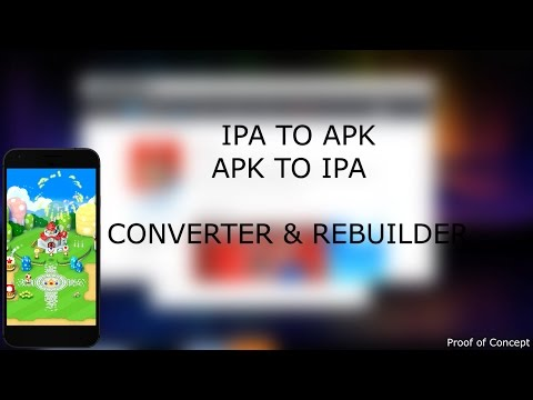 Convert IPA -- APK (iOS APPS ON ANDROID AND VICE VERSA)