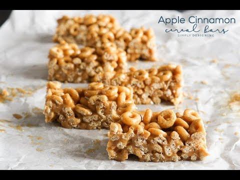 Apple Cinnamon Cereal Bar Recipe