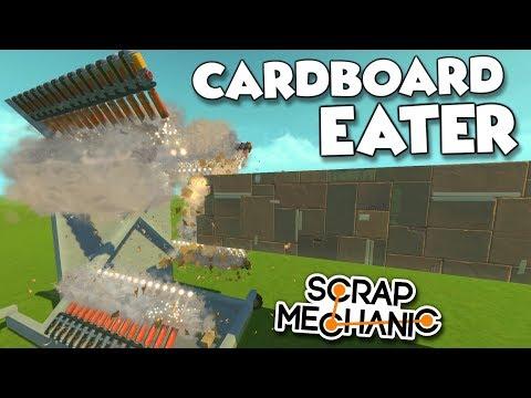 SATISFYING SPUD GUN DESTRUCTION! and LASER BEAM! - Scrap Mechanic Creations! - Episode 133