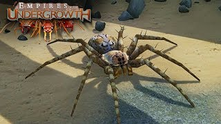 The Spiders Are Here! - Empires of the Undergrowth BETA Gameplay   Ep2