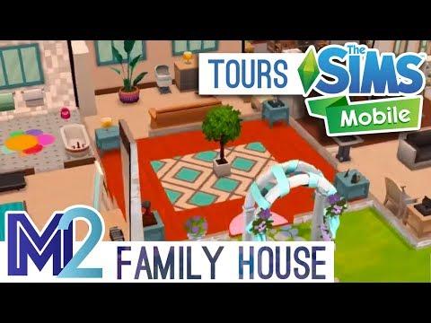 Sims Mobile - Family House Tour
