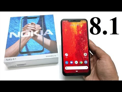 Nokia 8.1 - Unboxing and First Impressions