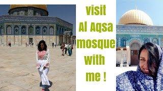 Visit AL-AQSA Mosque with me!! - Jerusalem 2013