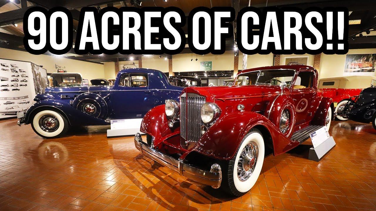North America's LARGEST Auto Museum!! - The Gilmore Car Museum