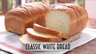 Classic White Bread | Straight Dough Method