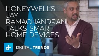 Jay Ramachandran Global Product Marketing Leader with Honeywell - Live Interview at CES 2018