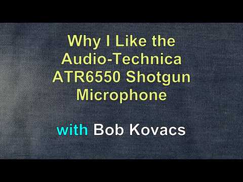 Audio-Technica ATR6550 Shotgun Microphone Demonstration