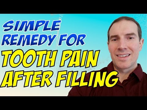 Remedy For Tooth Pain After Filling