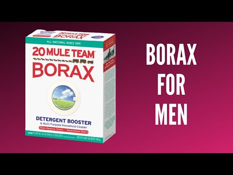 Borax for Men - Boost Testosterone, Alleviate Arthritis, Back Pain - Earth Clinic