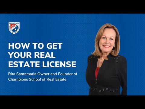 How to Get Your Texas Real Estate License
