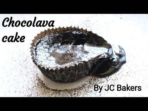 Choco lava cake by JC Bakers Academy - Cake recipe - Simple choco lava cake