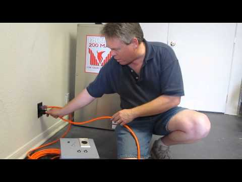 Steambrite: 230 Volt to 240 volt Circuit Joiner using two 120 Volt outlets