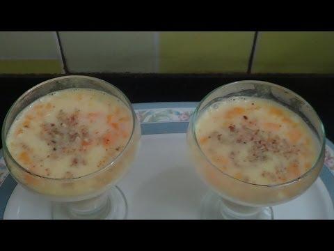 Mango and Sago Pudding