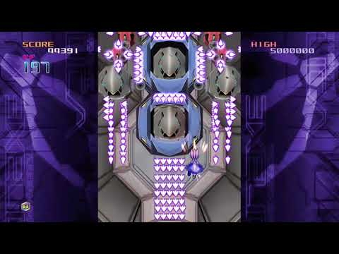 SHOOT EM UP CLASSIC! XBOX 360 TRIGGERHEART EXELICA COMPLETE GAMEPLAY FOOTAGE