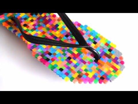 {DIY} Perler Bead Flip Flop