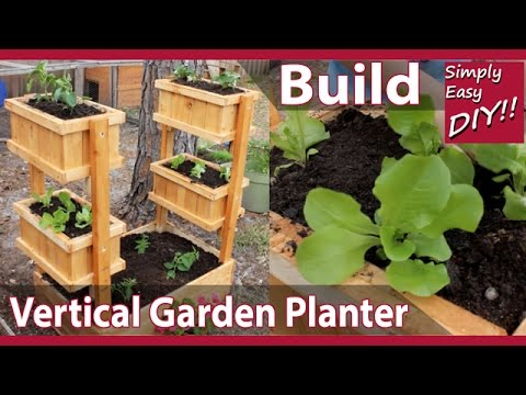 DIY Vertical Garden Planter