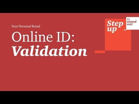 Online ID - Validation