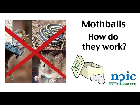 Mothballs - How do they work?