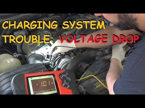 Charging System Problem - Voltage Drops