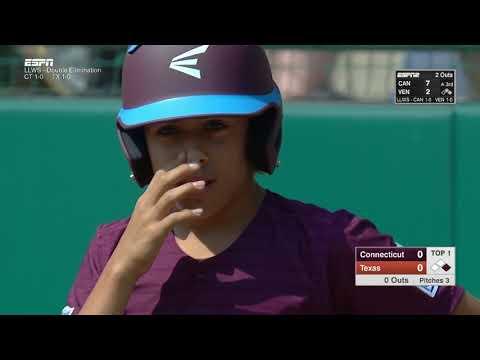 LLWS17 - Game 14 - Fairfield Connecticut vs  Lufkin Texas - #ilovewilliamsport
