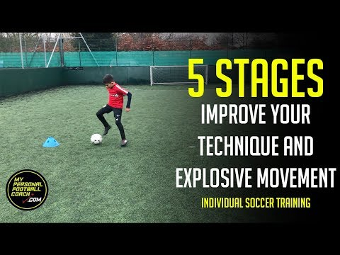 Soccer Training - Improve Your Soccer Technique and Explosive Movement