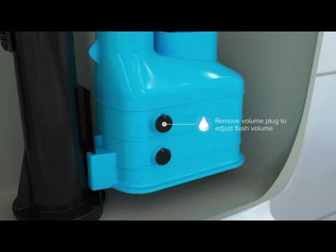 How to Install or Replace a 3 Part Height Adjustable Syphon / Siphon Flush Valve