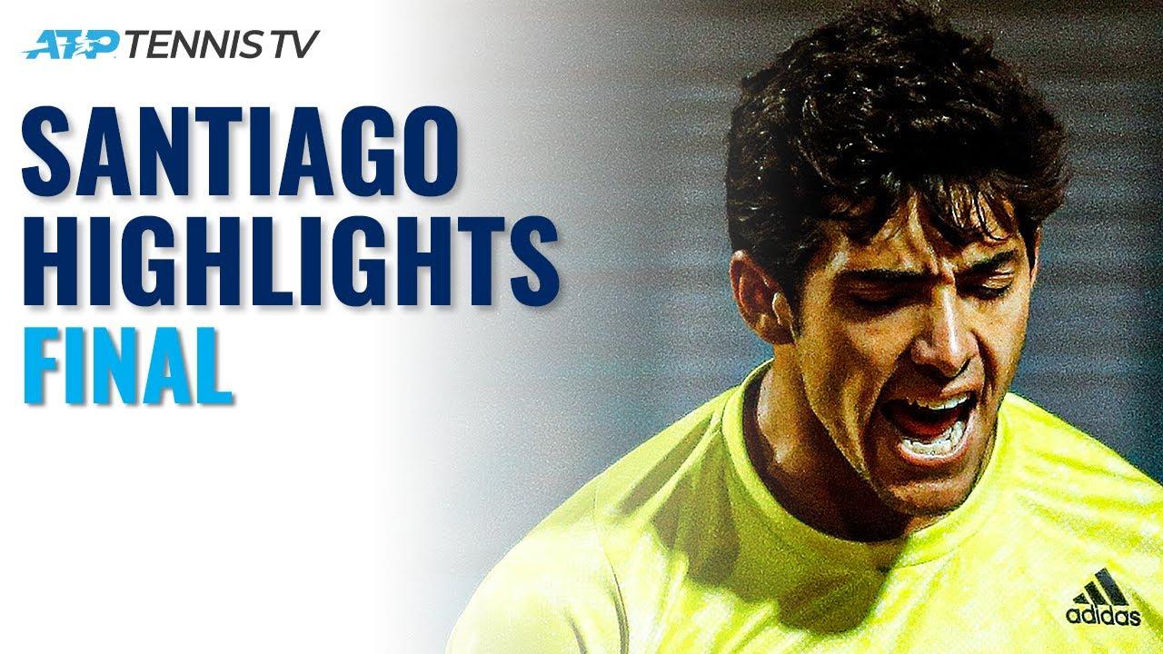 Cristian Garin vs Facundo Bagnis | Santiago 2021 Final Highlights