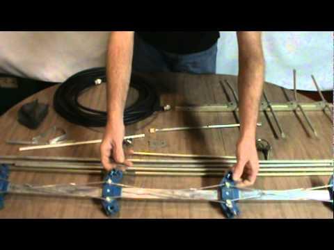 2 Meter Yagi Antenna w/ Gamma Match (Part 1/2)