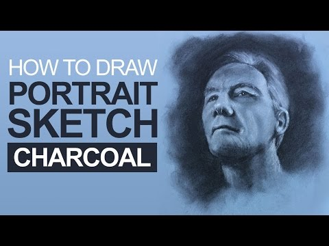 How to Draw a Portrait with Charcoal