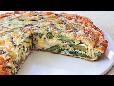 ITALIAN FRITTATA - HOW TO MAKE FRITTATA WITHOUT AN OVEN! Simple Cooking Videos