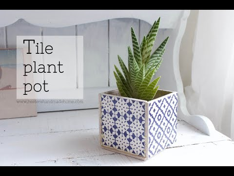 How to turn 5 tiles into a planter